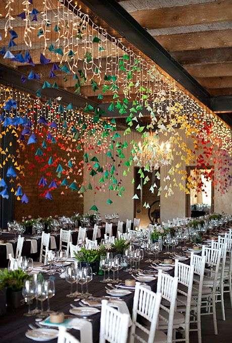 Origami Wedding Decorations 2