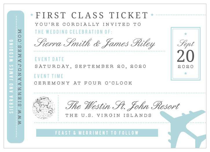 Ticket Invitation