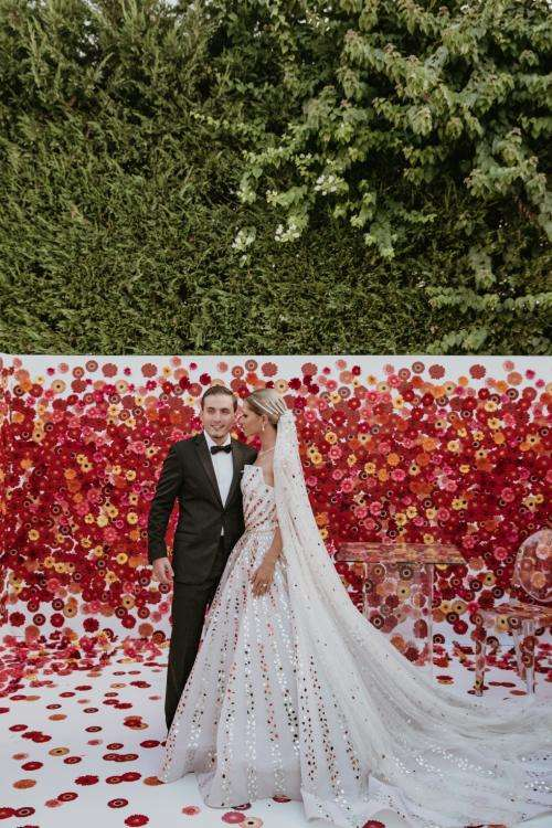 A Love Maze Wedding in Lebanon by Strawberries and Champagne