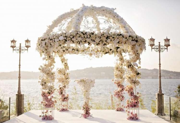 حفل زفاف ميريام وعزالدين في إسطنبول