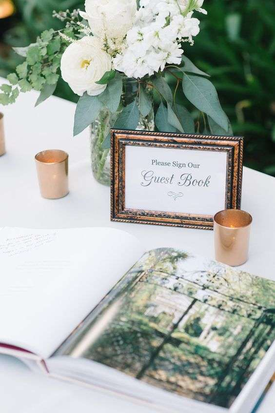 Coffee Table Guestbook