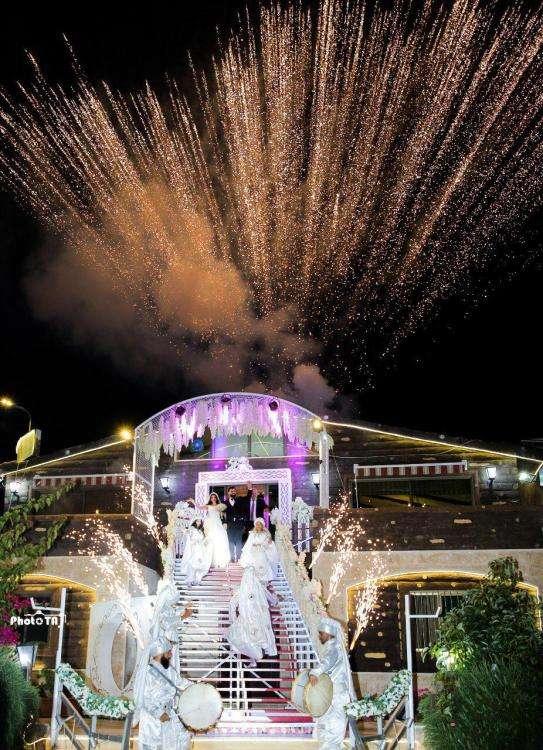 حفل زفاف لبناني
