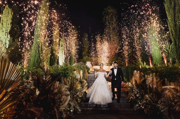 حفل زفاف في لبنان