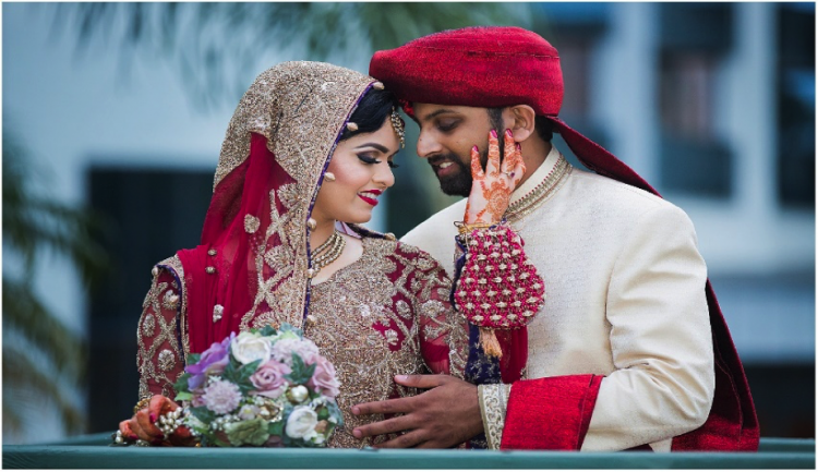 An Indian Muslim couple
