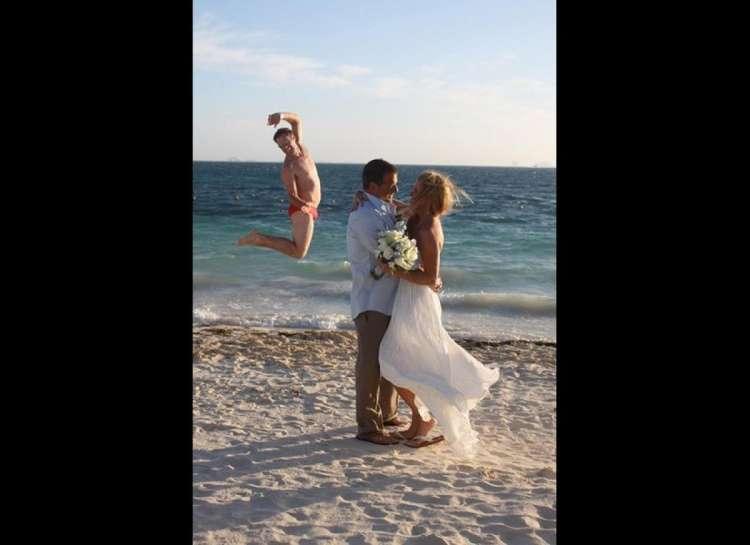 صور زفاف طريفة وخارجة عن المألوف