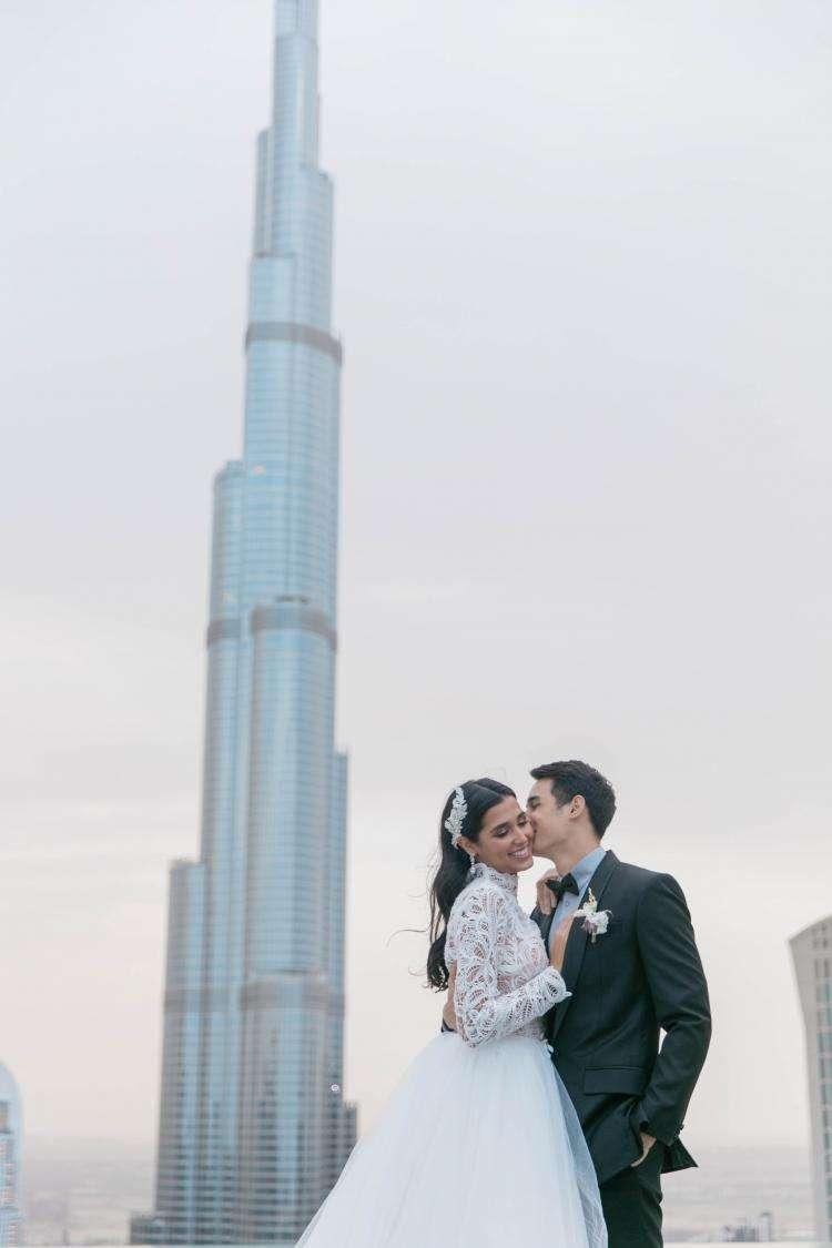 Wedding in Dubai by Maddy Christina