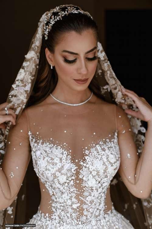حفل زفاف ساحر في الهواء الطلق في شمال لبنان
