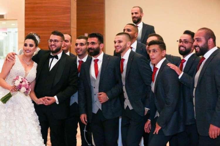 حفل زفاف مهدي ورند في رام الله