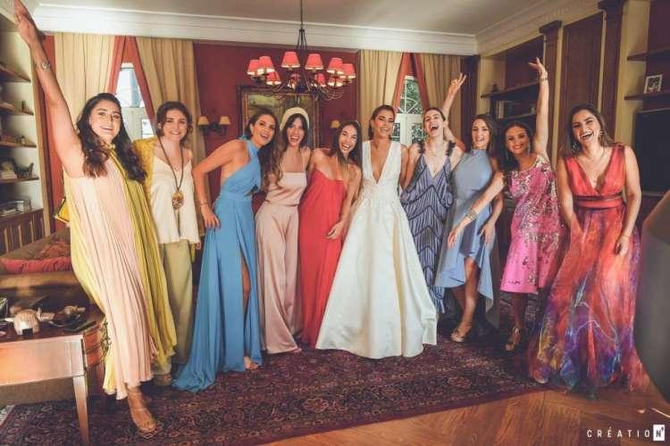 حفل زفاف من وحي حديقة الحب في لبنان