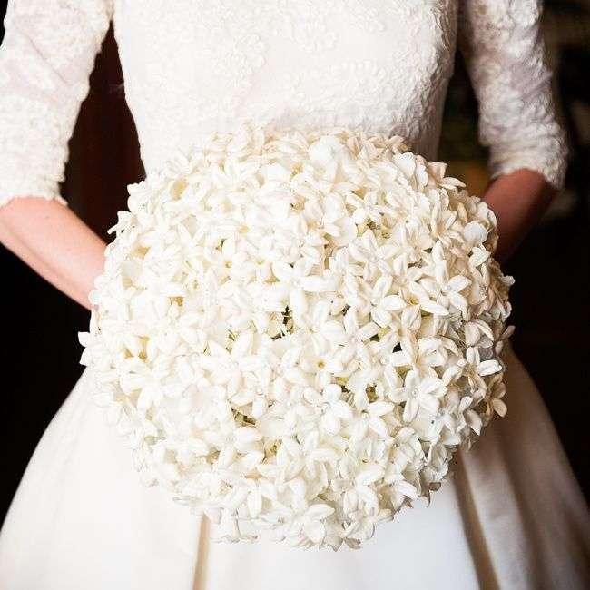 Stephanotis wedding bouquet