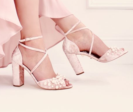 Colored Bridal Shoes