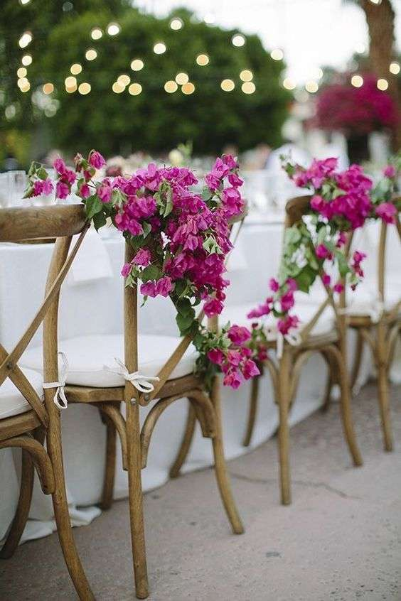 Bougainvillea Wedding Theme