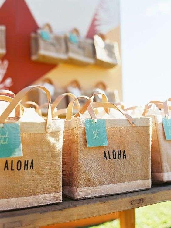 Beach Wedding Welcome Bags 1