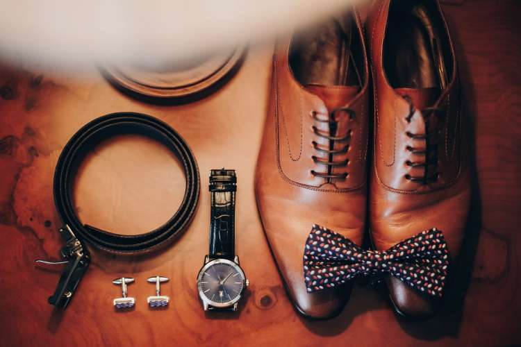 Groom watch and other accessories