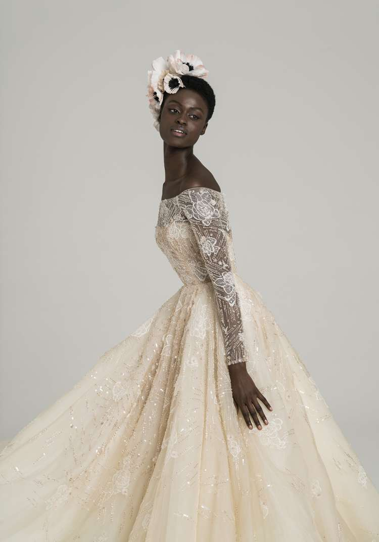 Dalila Wedding Dress by Peter Langner