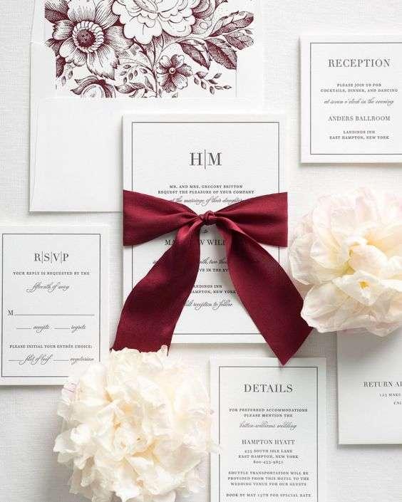 Valentines' Day Wedding Invitations 2