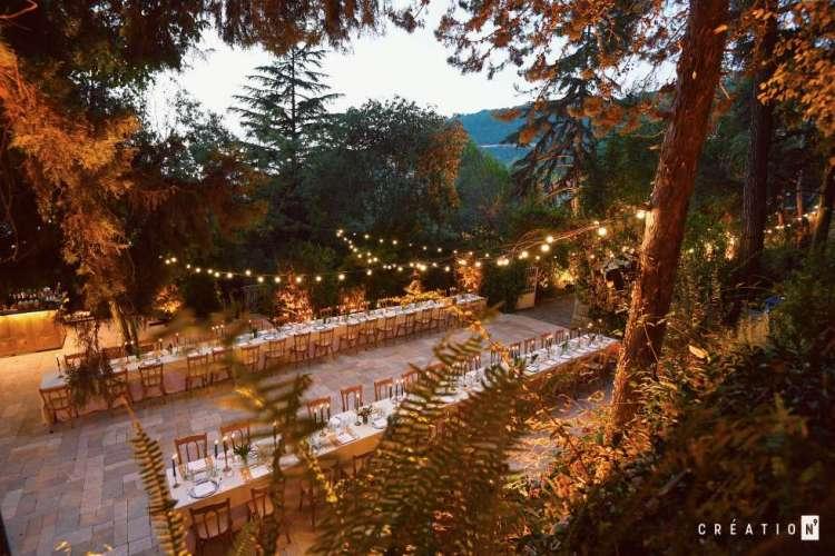 مكان زفاف رومانسي