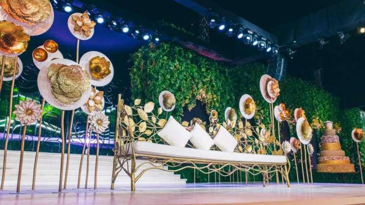حفل زفاف من وحي الحديقة في قطر