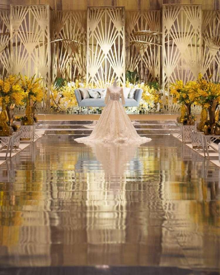 حفل زفاف فاخر على طراز آرت ديكو في البحرين
