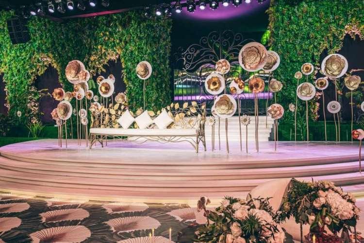 Garden Wedding in Qatar 1