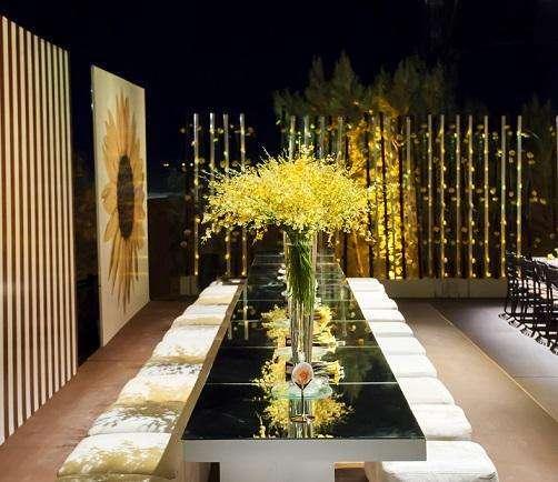 حفل زفاف بثيم زهرة دوار الشمس من تصميم ماي إيفينت ديزاين