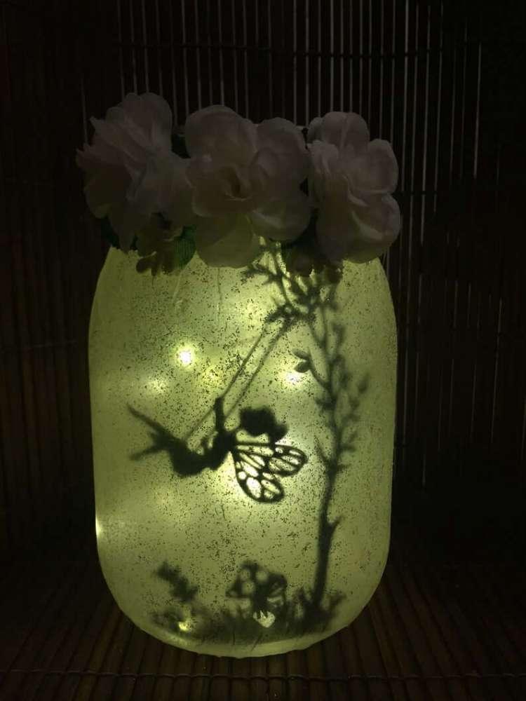 Fairy Light Jar