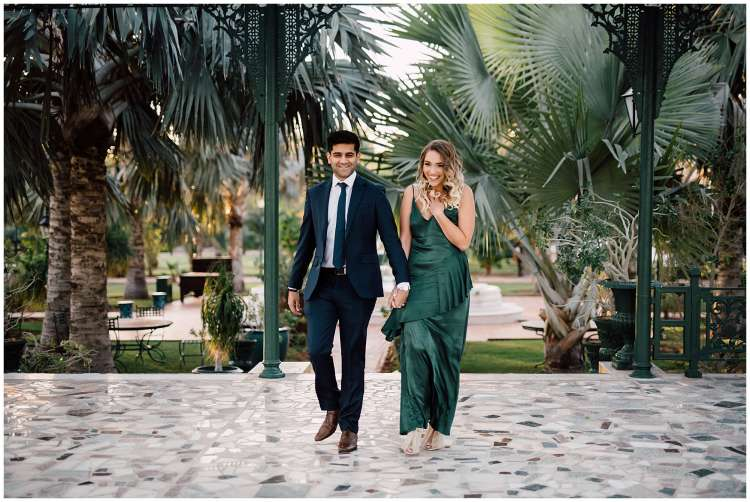 A Romantic Proposal at Melia Desert Palm in Dubai