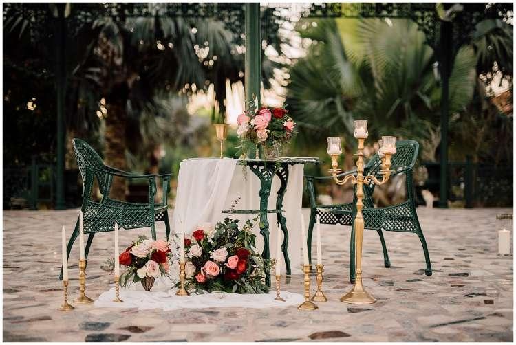 A Romantic Proposal at Melia Desert Palm in Dubai 1