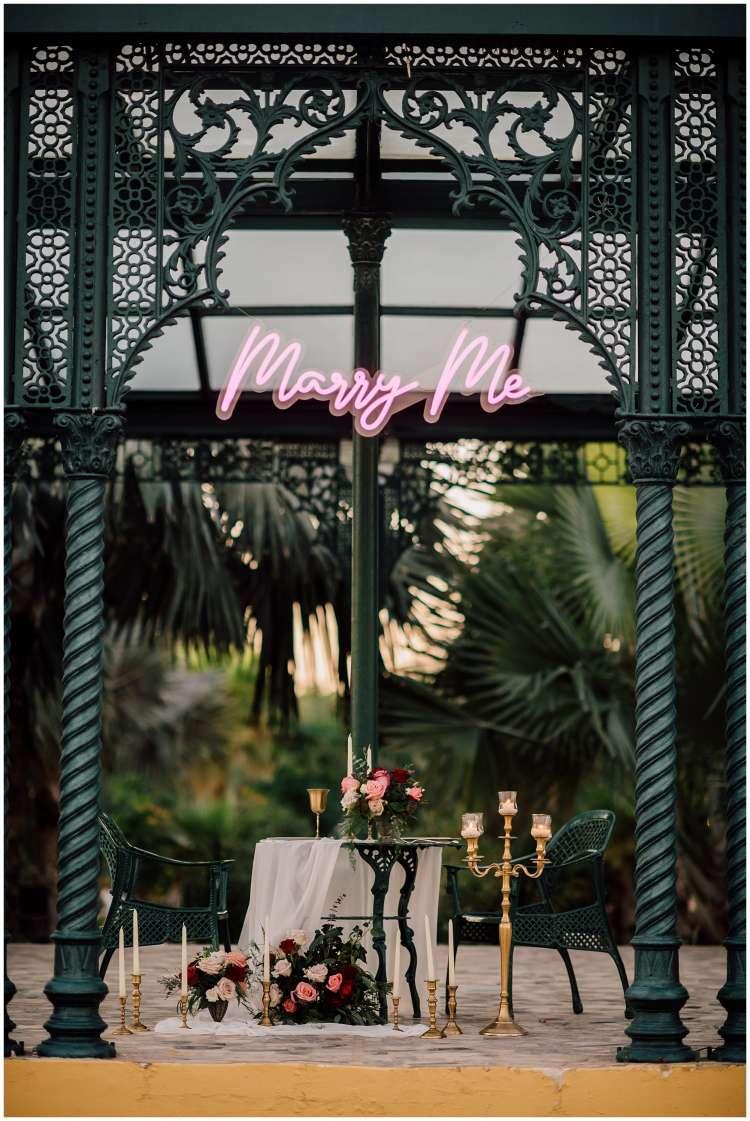 A Romantic Proposal at Melia Desert Palm in Dubai 2