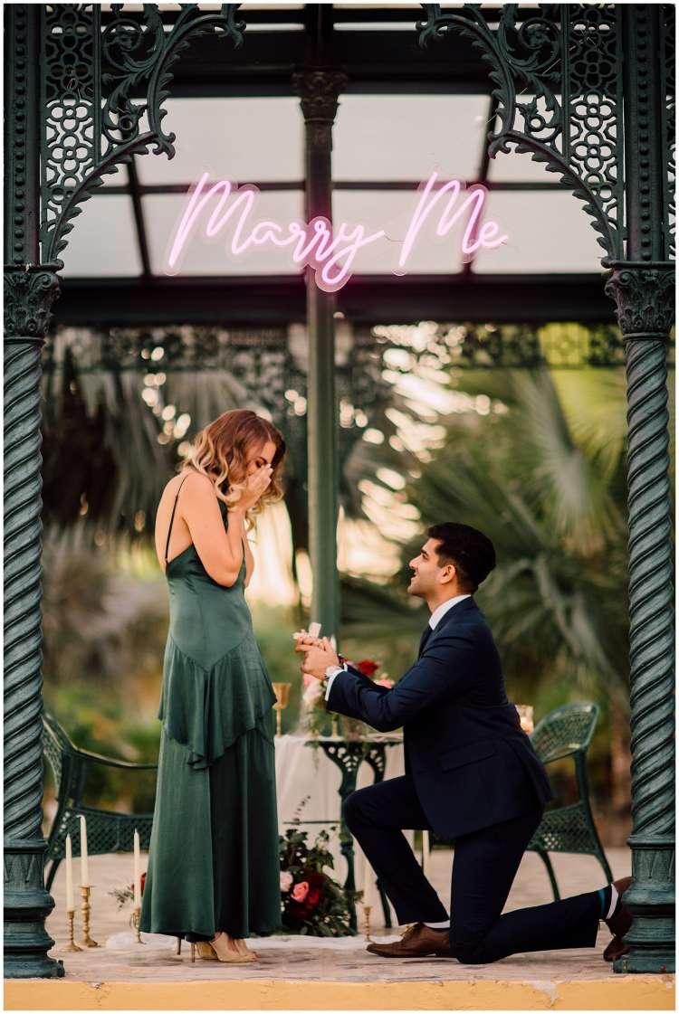 A Romantic Proposal at Melia Desert Palm in Dubai 3