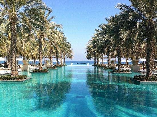 Al Bustan Palace, a Ritz-Carlton Hotel in Muscat, Oman