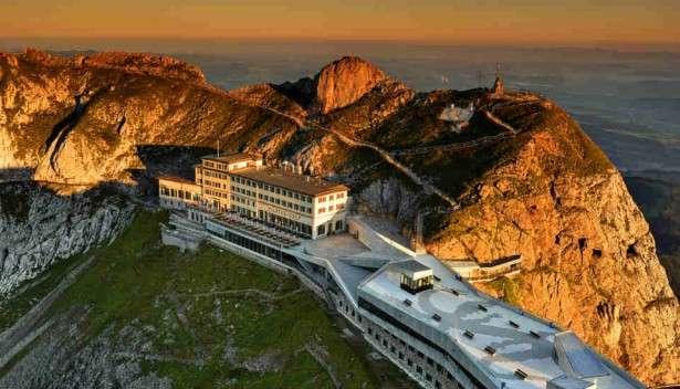 Hotel Pilatus-Kulm: Kriens, Switzerland