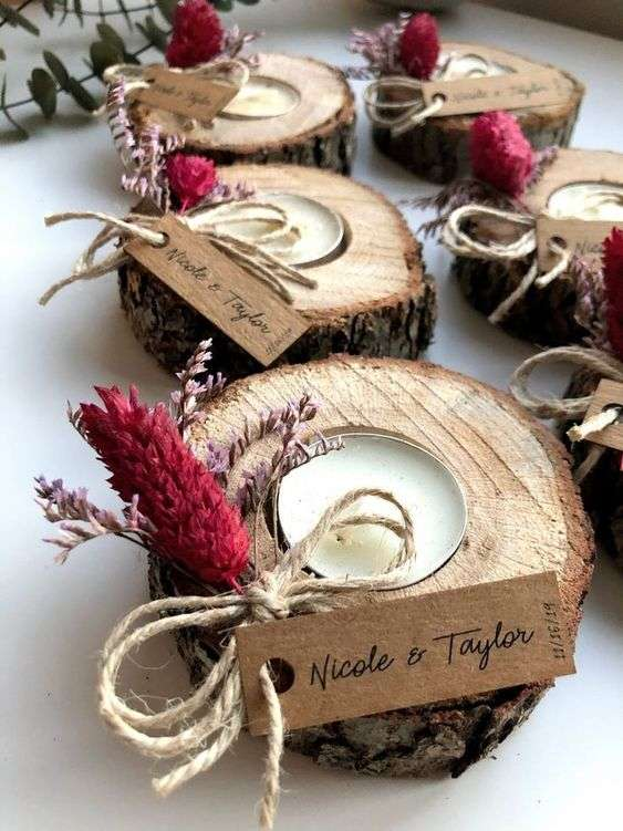 Candle Favors