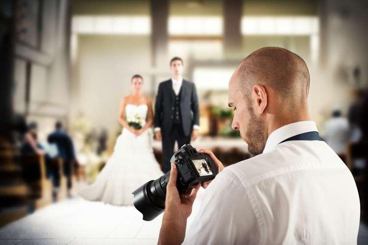 تصوير حفل الزفاف