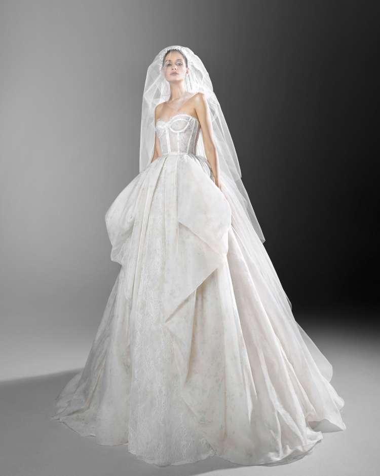 فساتين زفاف زهير مراد لربيع عام 2021
