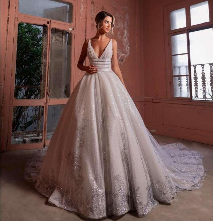 مجموعة عبد محفوظ لفساتين زفاف 2021