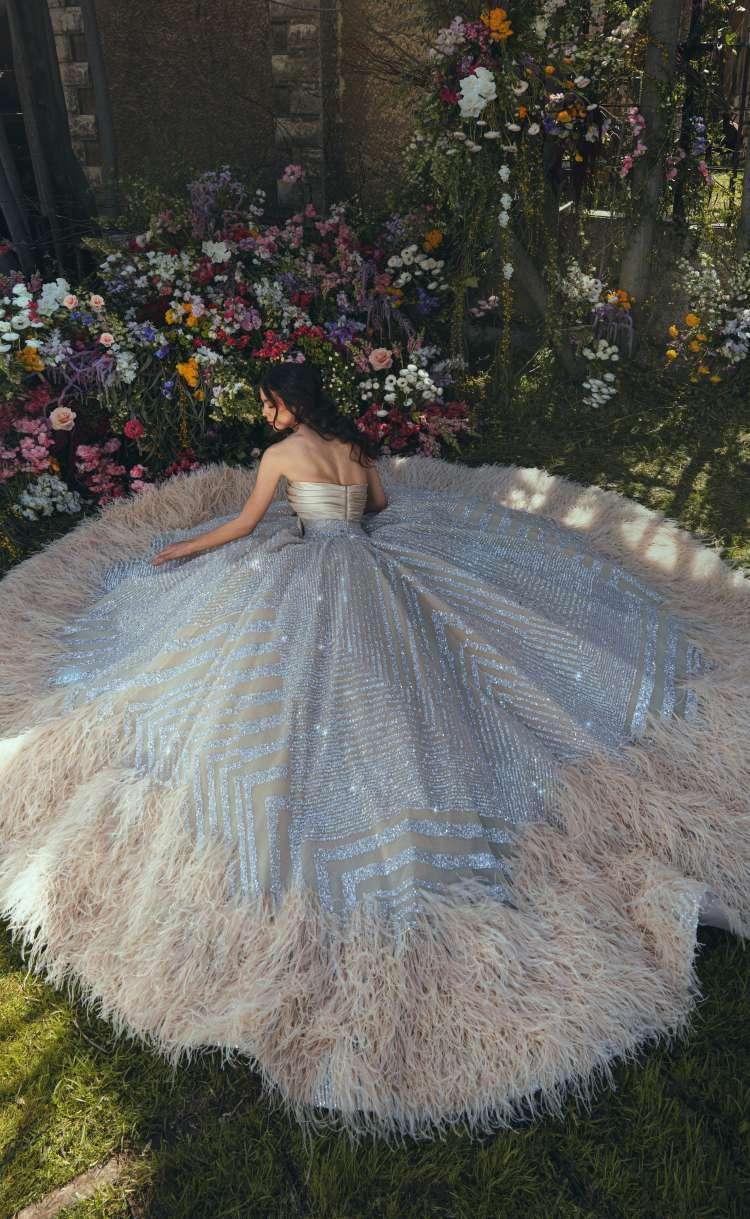 مجموعة فساتين زفاف رامي قاضي لربيع وصيف 2021