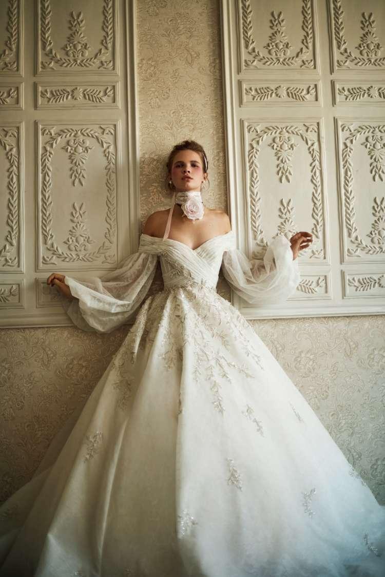 مجموعة فساتين زفاف 2021 من تصميم سعيد قبيسي