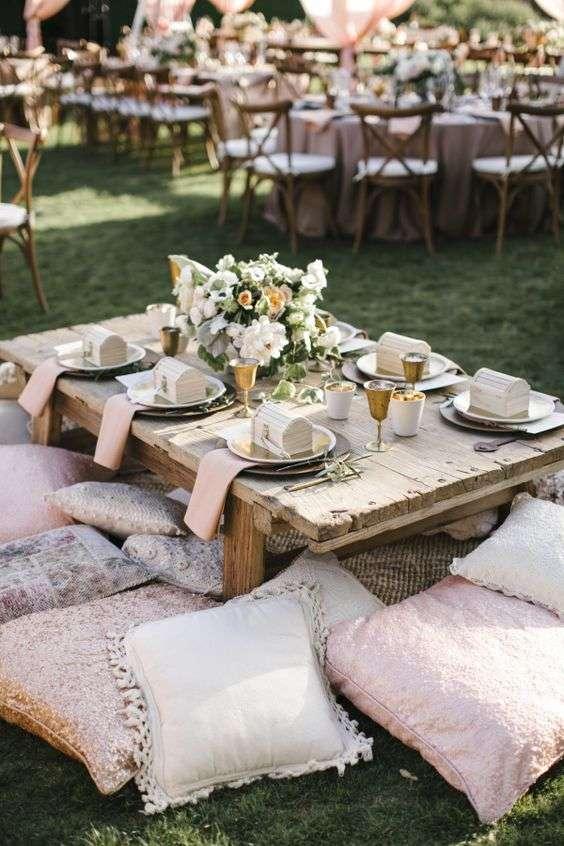 Wedding Floor Seating