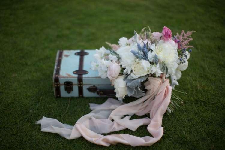 Pink Rustic Wedding Theme