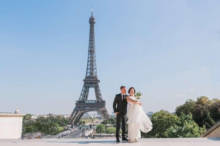 An Elopement Wedding in Paris