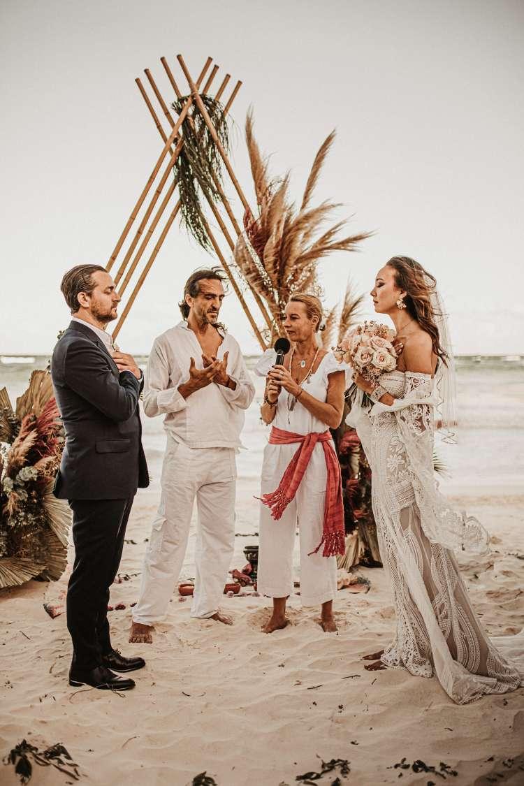 Cosmic Wedding Ceremony With a Powerful Shaman