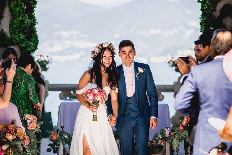 Destination Wedding in Lake Como