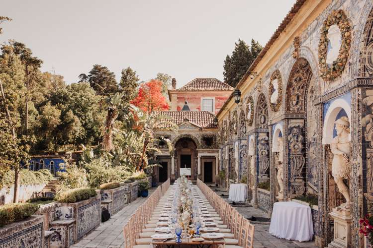 Romantic and Elegant Wedding in Portugal 1