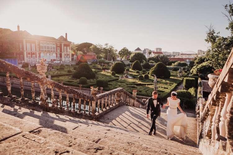 Romantic and Elegant Wedding in Portugal