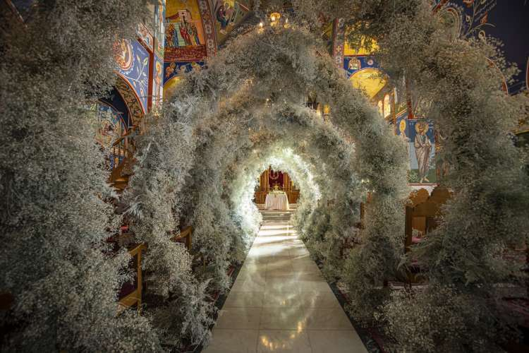 Floral Arches Wedding in Amman