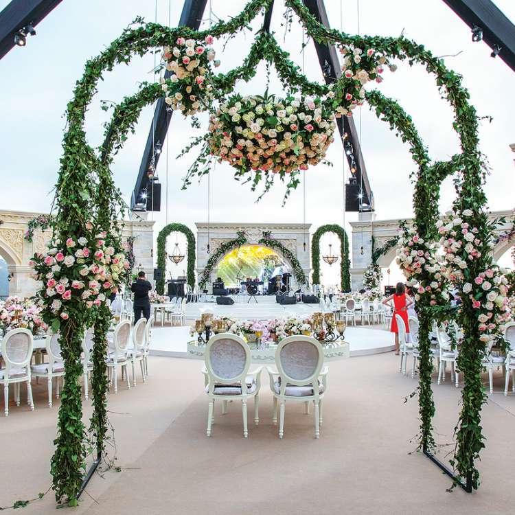 Floral Wedding in Lebanon