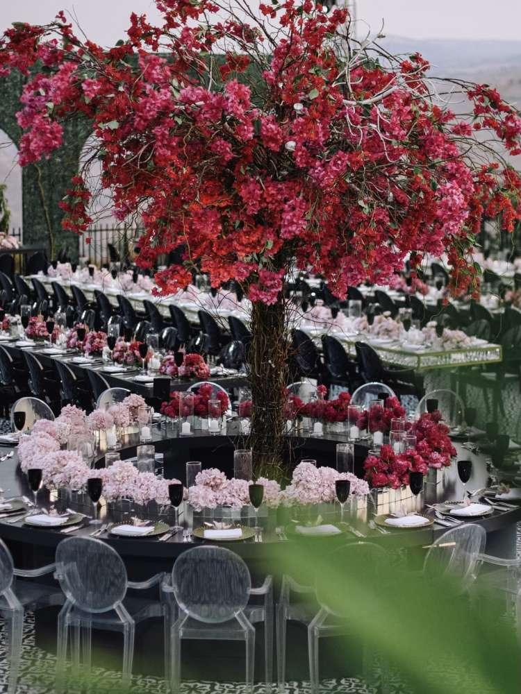 Pink Alfresco Wedding Amman