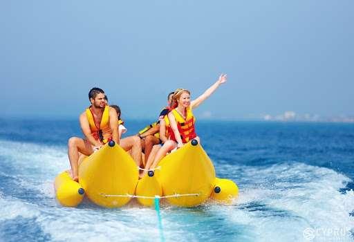 Water activities in Cyprus