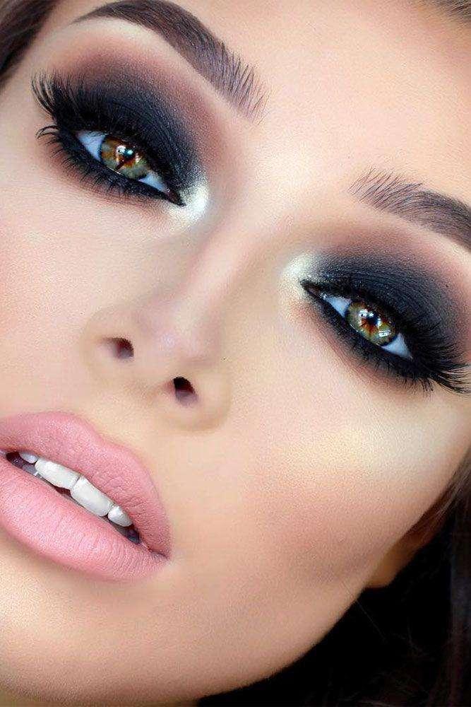 Dramatic Makeup Look
